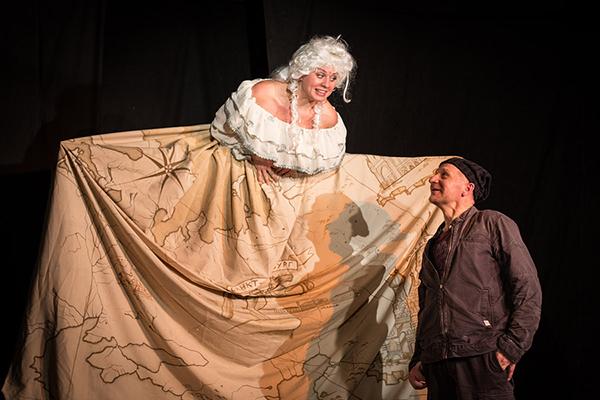 Уроки Гоголя спектакль Оранжевое небо