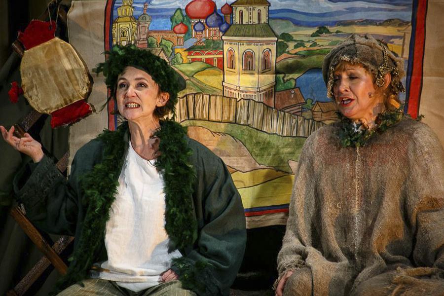 Спектакль «Дивные бывальщины» Б.В. Щергин