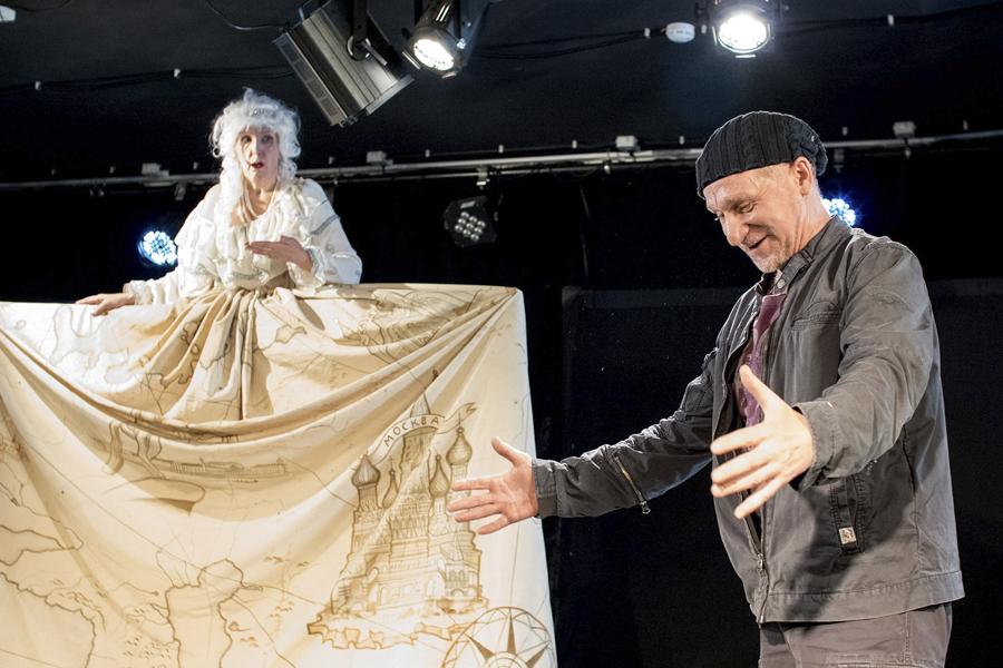 Спектакль «Уроки Гоголя» Н.В. Гоголь